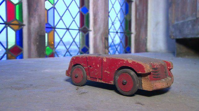 Car found in secret church room