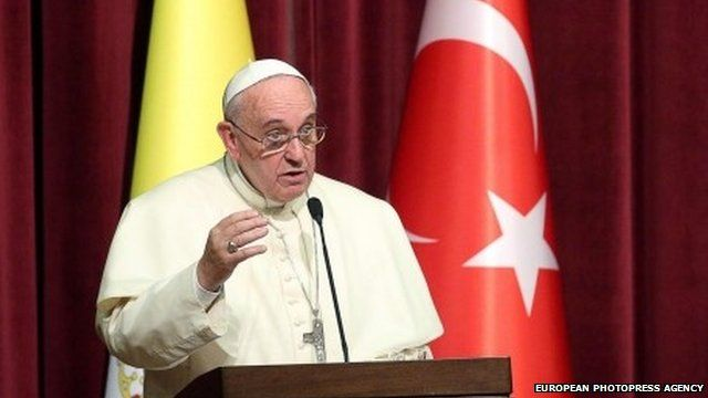 Pope Francis in Turkey