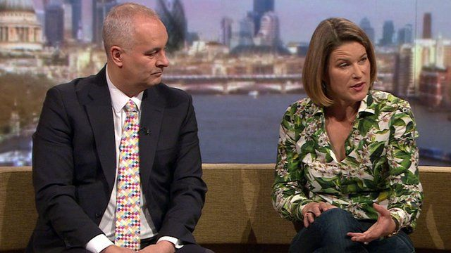 Iain Dale and Stephanie Flanders on The Andrew Marr Show