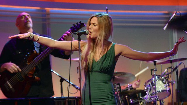 Joss Stone on The Andrew Marr Show