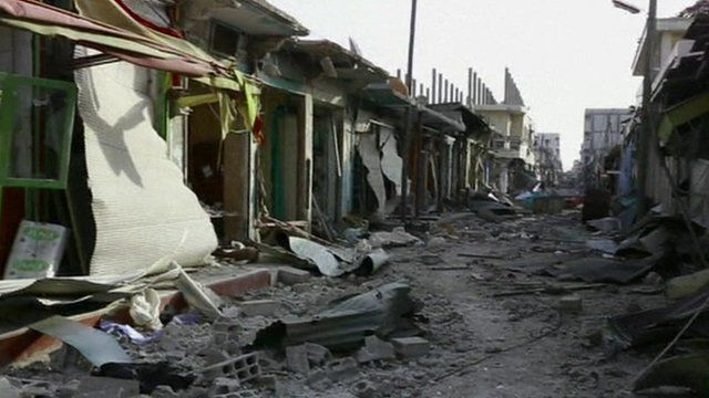 Street in Kobane
