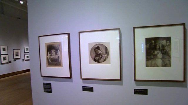Old photos on display