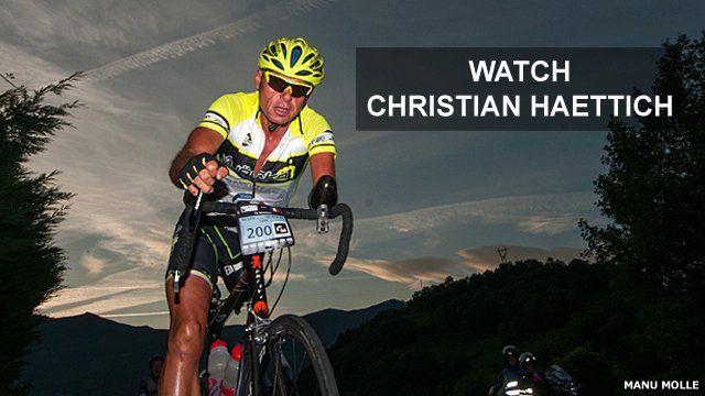 Cyclist Christian Haettich