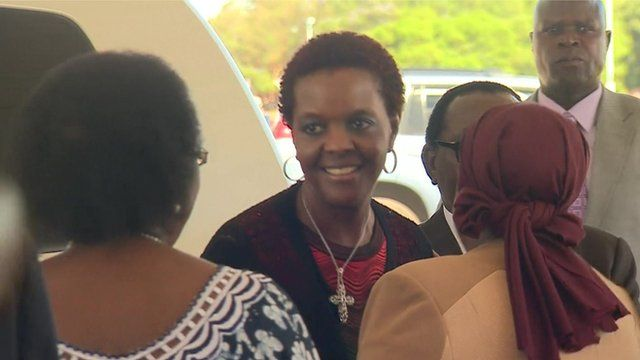 Robert Mugabe's wife Grace