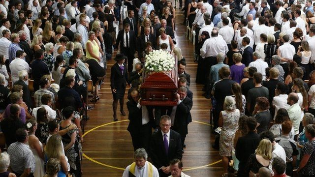 Funeral of Phillip Hughes