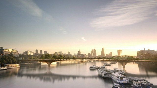 River Thames Garden Bridge