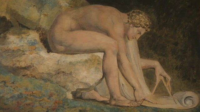 One of William Blake's paintings