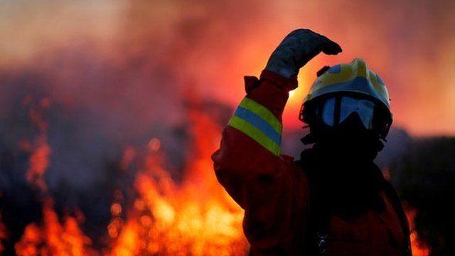 Wildfires in Brasilia