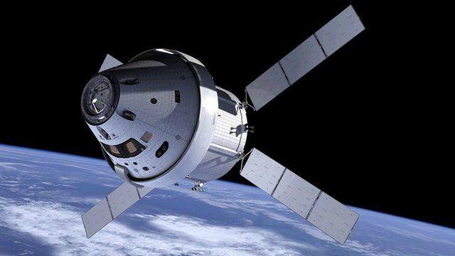Orion capsule and service module