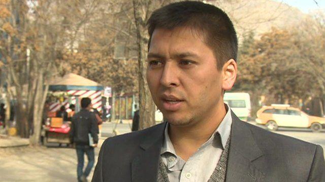 Afghan student