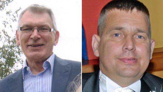 "Robert ""Jim"" Stuart and Darren Hughes"