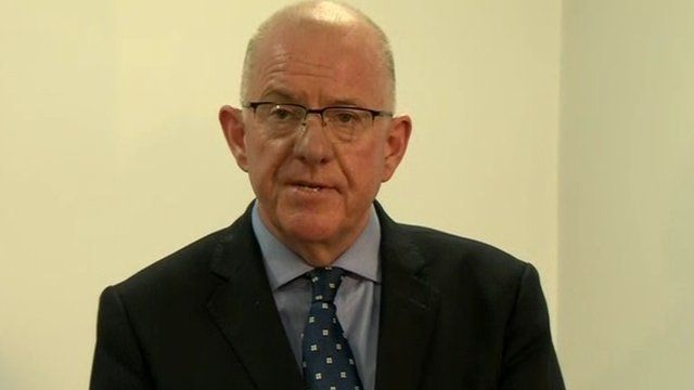 Irish Minister for Foreign Affairs Charlie Flanagan TD