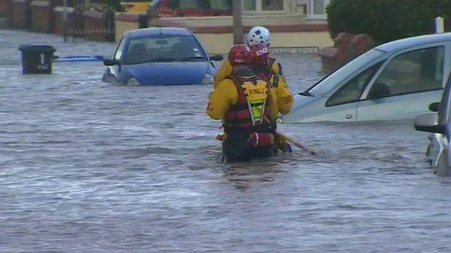 Flashback to Rhyl flooding