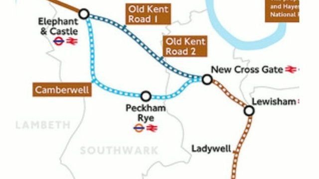 Bakerloo Line extension plan