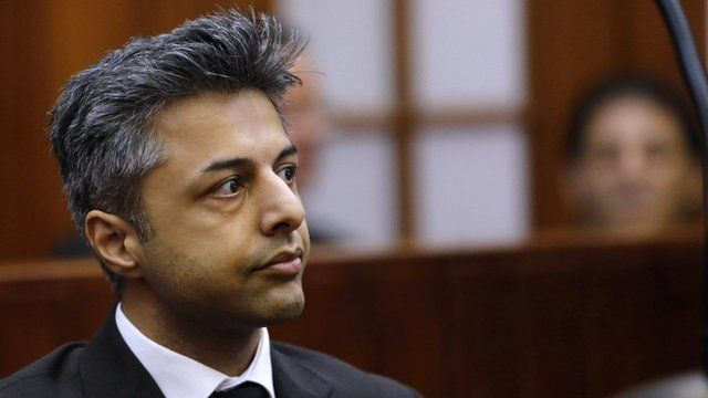 Shrien Dewani in court in South Africa