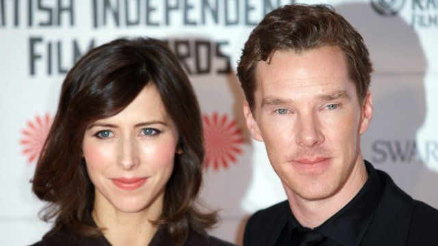 Sophie Hunter and fiance Benedict Cumberbatch