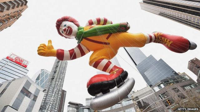 McDonald's global sales continue to decline