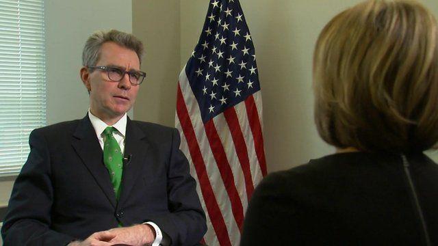 US Ambassador to Ukraine Geoffrey Pyatt speaks about the Ukrainian crisis in BBC interview