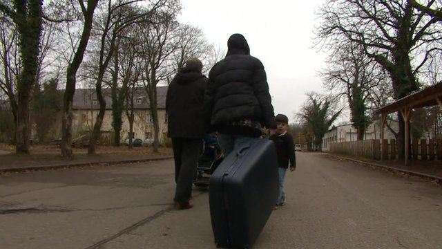 A refugee in Germany