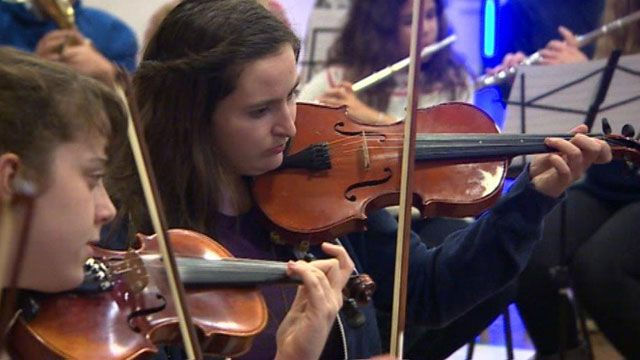 Youth orchestra in RCT