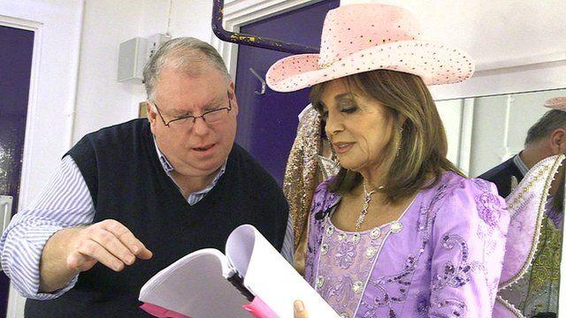 Eric Potts and Linda Gray
