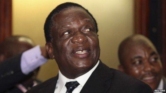 Emmerson Dambudzo Mnangagwa