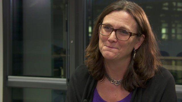 EU Trade Commissioner, Cecilia Malmström