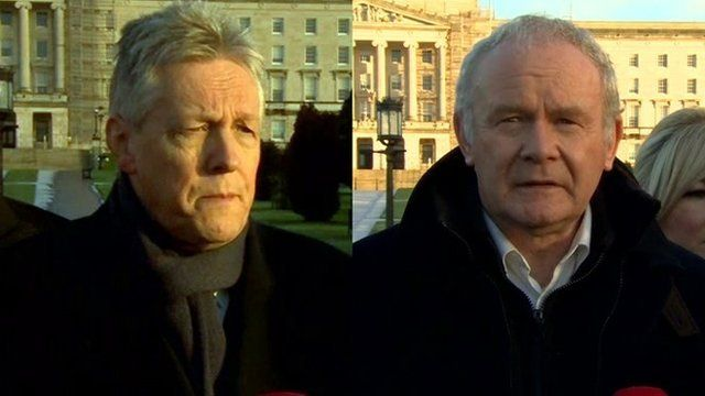 Peter Robinson, Martin McGuinness
