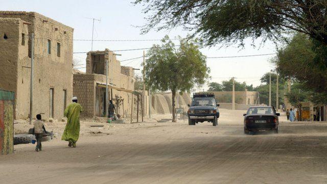 A main street in Timbuktu
