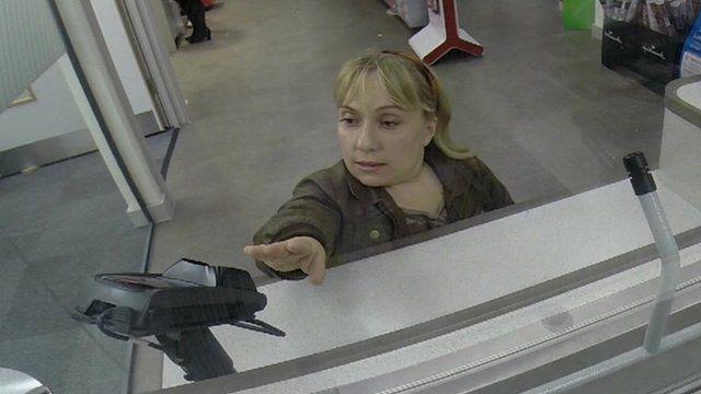 Kiruna Stamell at Post Office