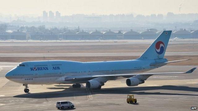 Korean Air executive 'made steward kneel over nut rage'