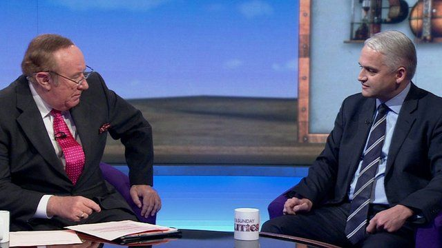 Andrew Neil and Patrick O'Flynn