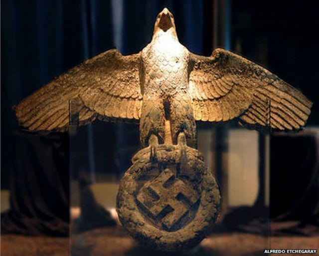 What should Uruguay do with its Nazi eagle?
