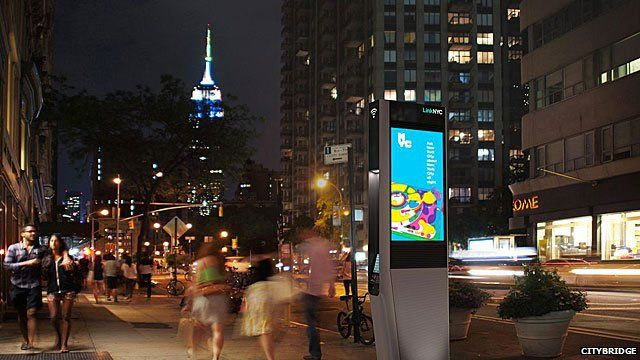 What the new LinkNYC kiosks will look like