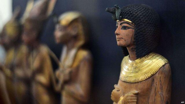 Egypt unveils renovated Tutankhamun gallery