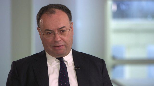 Andrew Bailey Chief Executive Officer of the Prudential Regulation Authority