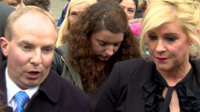 Mrs Smyth's solicitor, Aidan Carlin, said he hopes the conviction will be overturned at an appeal.