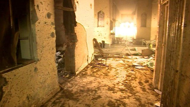 Attack aftermath in the Peshawar school