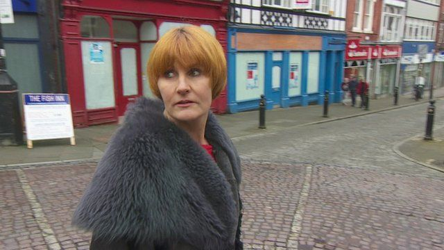 Mary Portas in Stockport