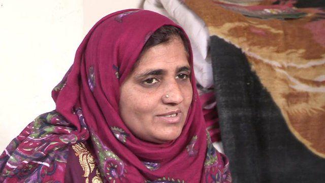 Kashmiri woman