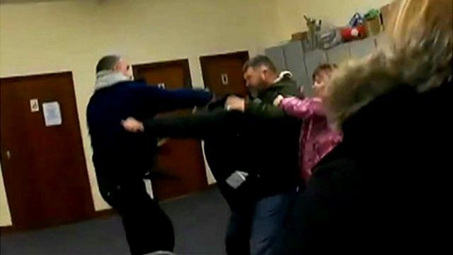 Brawl at Briercliffe council committee meeting
