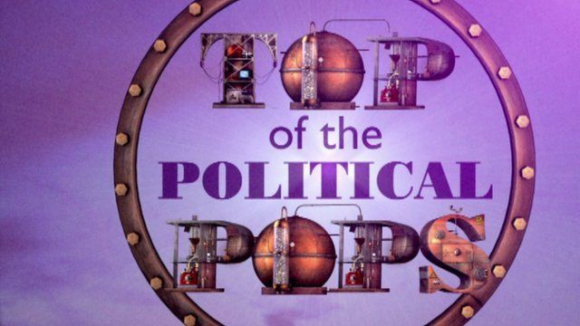 Top of the political pops
