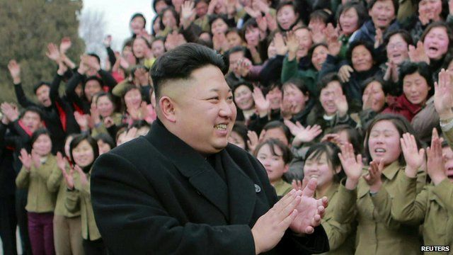 North Korean leader Kim Jong-un - photo released by North Korea's Korean Central News Agency
