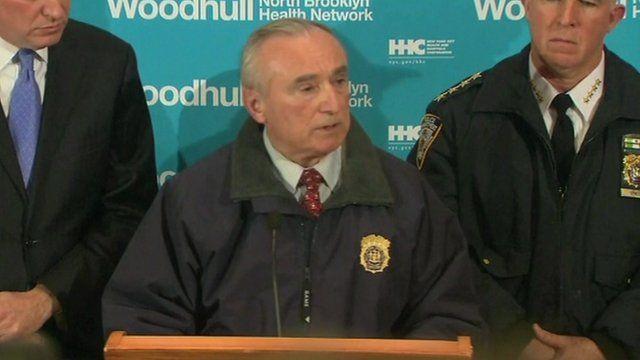 William J Bratton, New York City Police Commissioner