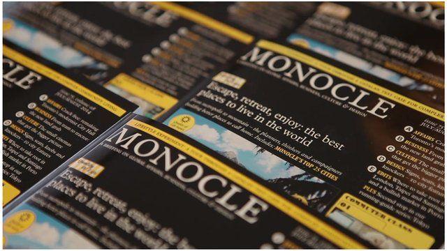 Monocle magazines