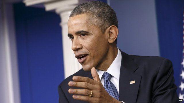 President Obama on 19th December 2014