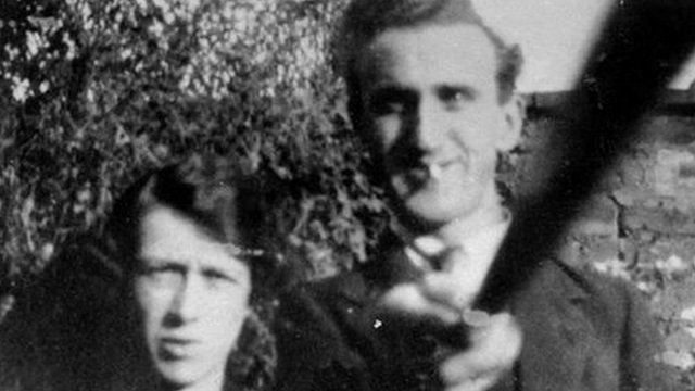 Alan Cleaver from Whitehaven sent this picture of his grandparents to BBC Radio Cumbria - could it be the first photo taken with a 'selfie stick'?