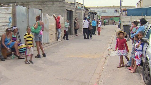 Residents of the Cape Flats