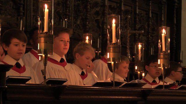 Kings College Choir Christmas 2019 Inside King's College Choir ahead of Christmas services   BBC News