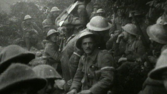 Shell shock experiences of Welsh troops in WW1 revealed - BBC News